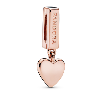 Heart Dangle Clip Berlock