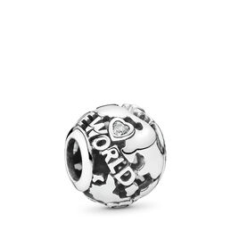 Around The World Openwork, Sterlingsilver, Inget annat material, Ingen färg, Kubisk zirkonia - PANDORA - #791718CZ
