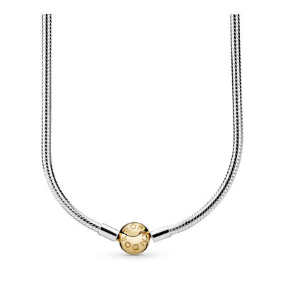 Moments Silver & Gold Necklace