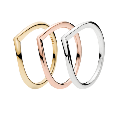 Wishbone Ring Presentset