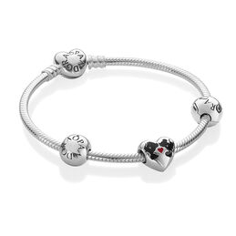 Disney, Minnie and Mickey Kiss Bracelet Set - PANDORA - #DKSE_DROP7_retail2