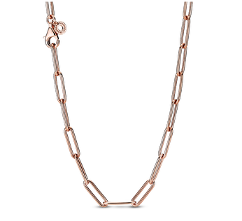 Long Link Cable Chain Halsband