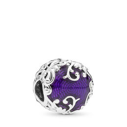 Regal Beauty, Sterlingsilver, Emalj, Lila, Utan ädelsten - PANDORA - #797607EN13