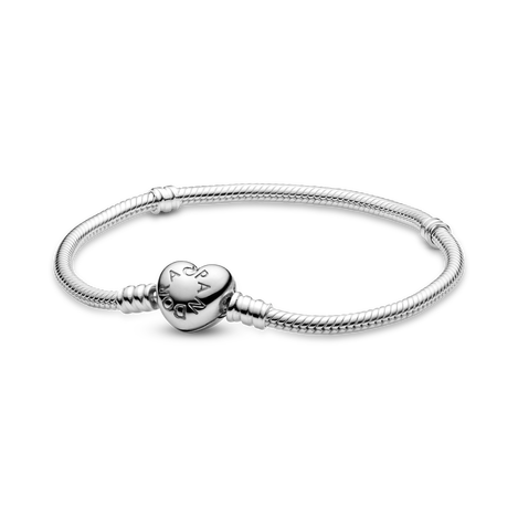 Pandora Moments Heart Clasp Ormkedjearmband