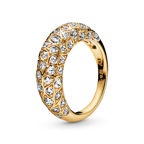 Sparkling Pattern Ring